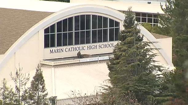 Marin Catholic High School in Kentfield, California.
