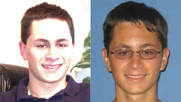 This undated photo from Facebook and 2010 student ID photo released by Austin Community College shows Mark Anthony Conditt.