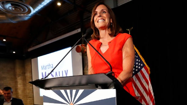 Rep. Martha McSally won the Republican primary on Tuesday for U.S. Senate in Arizona.