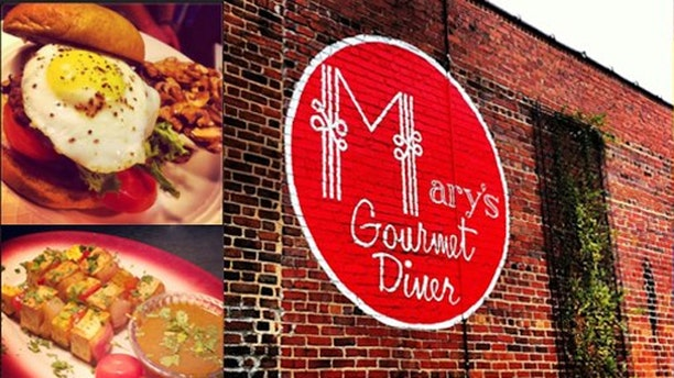 Mary's Gourmet Diner gives a 15 percent discount to those who pray in public.