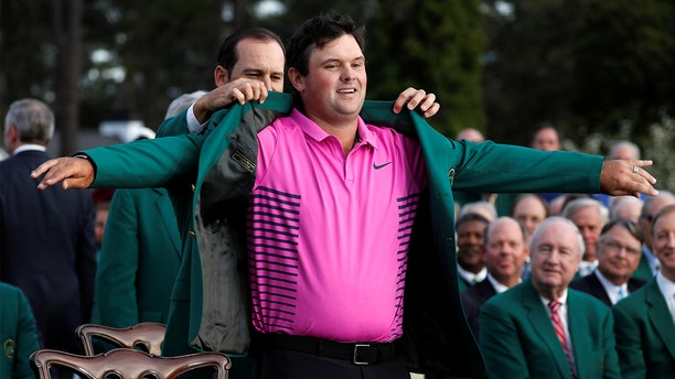 After winning the coveted green jacket at Sunday's Masters Tournament, Patrick Reed headed to Chick-fil-A.
