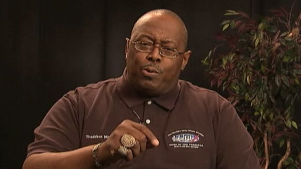 Shown here is Memphis DJ Thaddeus Matthews.