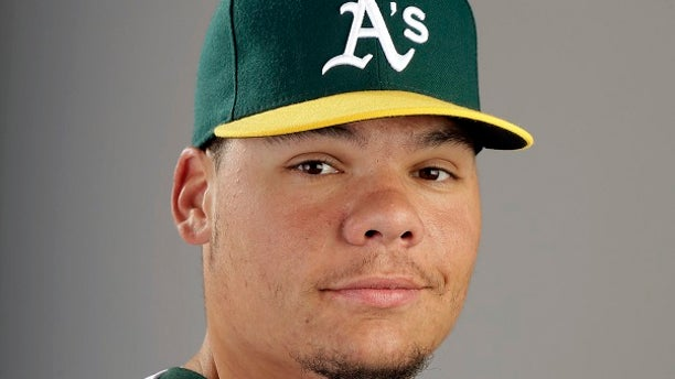 The Oakland Athletics said they were disappointed to learn about Bruce Maxwell's arrest.