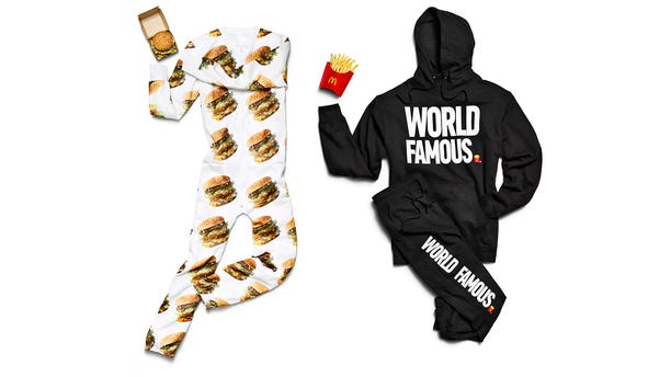 McDonald's now has a line of official McDelivery apparel.