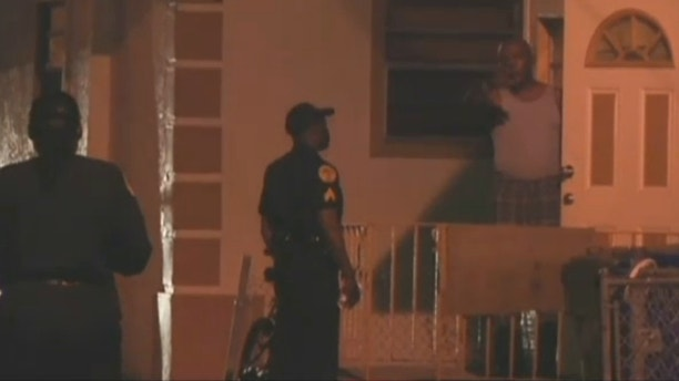 Feb. 13, 2013: This image shows the location of a deadly home invasion in Miami.