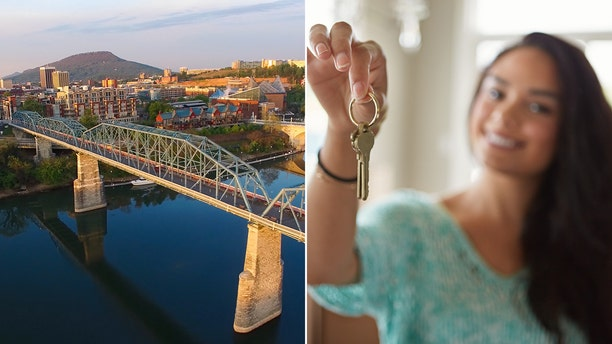 Millennials would have a cheaper path to homeownership if they left the big cities behind in favor of more affordable digs in places such as Chattanooga, Tenn.