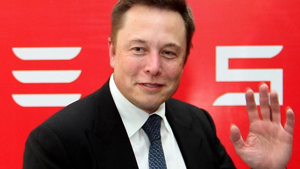 FILE 2014: Elon Musk, CEO of Tesla Motors, says artificial intelligence probably the biggest threat to human existence.