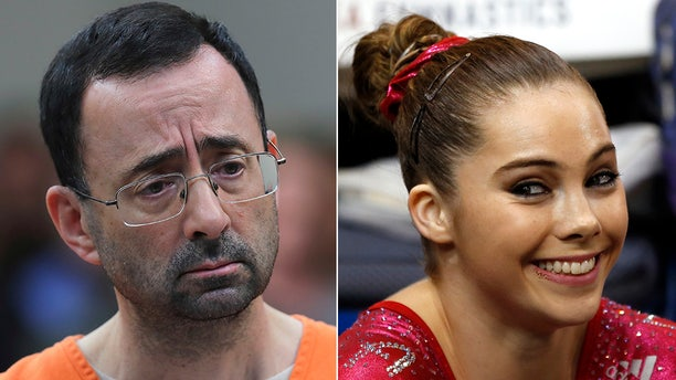 McKayla Maroney said she was molested by disgraced gymnastics doctor Larry Nassar.