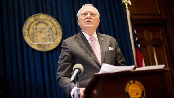 March 28, 2016: Georgia Gov. Nathan Deal announces he will veto religious liberty bill.