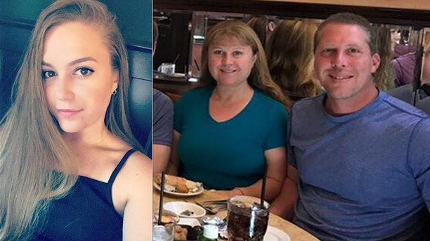 The shooting killed Brittany Kologi, left, and her parents, Linda and Steven.