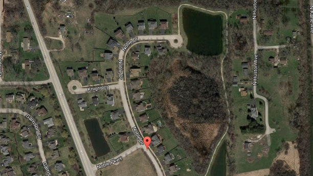 Location of the pond in Port Barrington