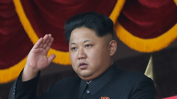 """FILE - In this Oct. 10, 2015 file photo, North Korean leader Kim Jong Un salutes at a parade in Pyongyang, North Korea. North Korea's ruling party says it will hold its biggest convention in decades next May. The Workers' Party said Friday, Oct. 30, 2015 its 7th congress will be convened as it's faced with """"the heavy yet sacred task"""" of build a thriving nation. But it didn't elaborate on what the party's highest-level body will determine. (AP Photo/Wong Maye-E, File)"""