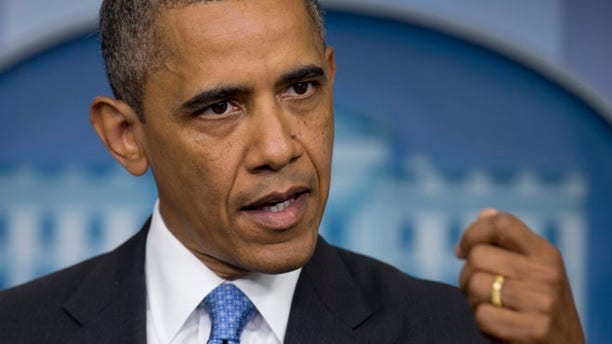 July 19, 2013: President Obama speaks to reporters in the press briefing room of the White House in Washington.