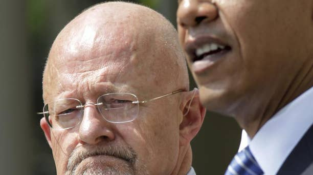 In this June 5, 2010, photo, President Barack Obama announces James Clapper, left, as Director of National Intelligence in Washington. (AP Photo)