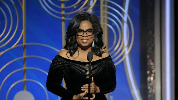 Oprah Winfrey speaks after accepting the Cecil B. Demille Award at the 75th Golden Globe Awards in Beverly Hills, California, U.S. January 7, 2018.
