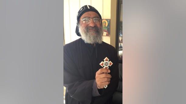 Father Mosa of the Saint Antony Eastern Orthodox Coptic Monastery, Calif.