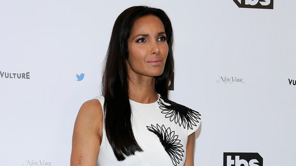 """Padma Lakshmi is embracing the curves that come with filming """"Top Chef."""""""