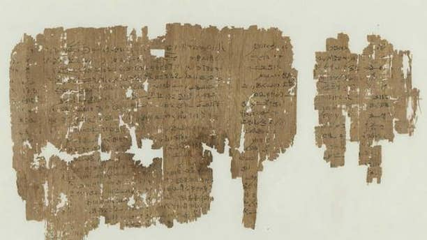 This papyrus, now in two fragments, dates back around 1,900 years and was written in a form of ancient Egyptian known as Demotic. It records a fictional story that includes ritual sex.