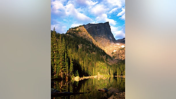 Hallet and Dream Lake, Rocky Mountain National Park.