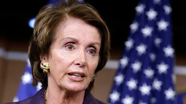 Sept. 13, 2012: House Minority Leader Nancy Pelosi speaks during a news conference on Capitol Hill in Washington.