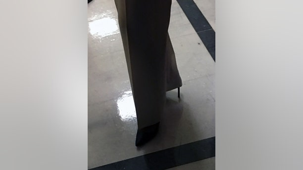 Pelosi wore four-inch high heels for the entirety of her eight-hour, seven-minute speech.