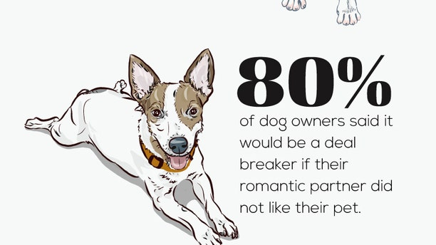 The study found that the majority of pet owners will break off a relationship if a romantic partner disapproved of their pet.