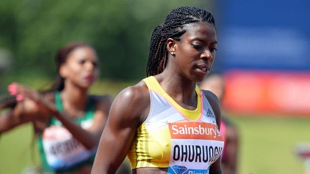 Christine Ohuruogu relaxes after winning the Diamond League 400m in Birmingham on June 30. Former Olympic, World and Commonwealth 400m champion Ohuruogu was on Tuesday named captain of Britain's squad for the World Championships in Moscow.