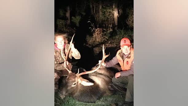 Abby Wilson shot an elk when she mistook the animal for a white-tailed buck.