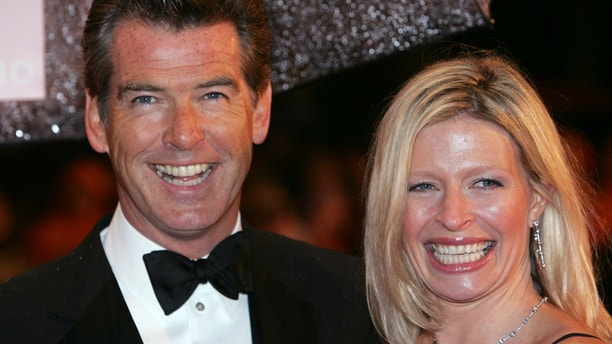 Peirce Brosnan and his daughter Charlotte in 2006.
