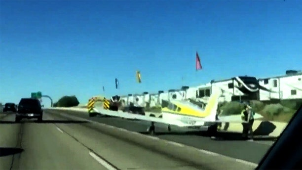 The plane was towed from the scene in good condition.
