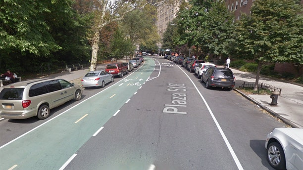 The incident took place on this street just outside of Prospect Park.