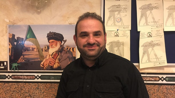 Mohand al-Eqqaby, leader of the PMF's media wing.