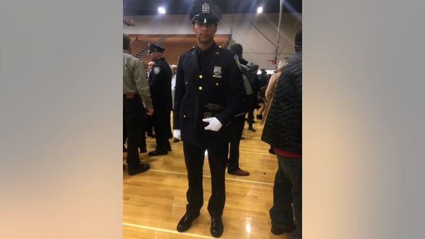 Anthony Varvaro hung up his Red Sox uniform for a career as a New York Port Authority police officer.