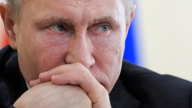 Russian President Vladimir Putin is seen above. The country has consistently denied any role in the poisoning of an ex-spy and his daughter on U.K. soil.