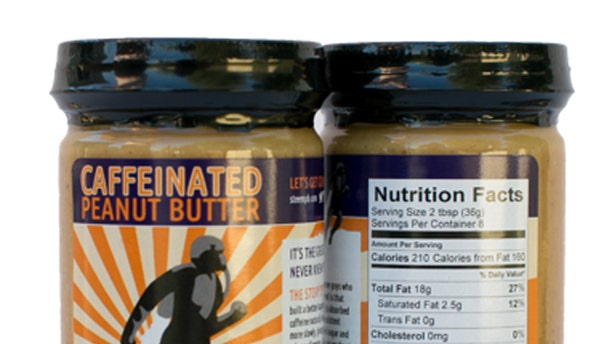 The FDA is concerned that this caffeinated peanut butter may have too much of a kick.