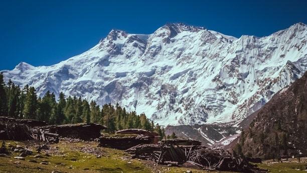 Massive Nanga Parbat mountain in the Karakorum range, Pakistan