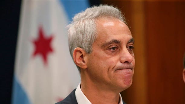Chicago Mayor Rahm Emanuel announces Tuesday, Sept. 4, he will not seek a third term in office at a press conference on the 5th floor at City Hall in Chicago