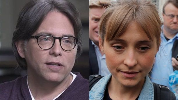 """Keith Raniere (left) and his accused sidekick, """"Smallville"""" actress Allison Mack, are also being accused of crimes related to the alleged self-help group NXIVM."""