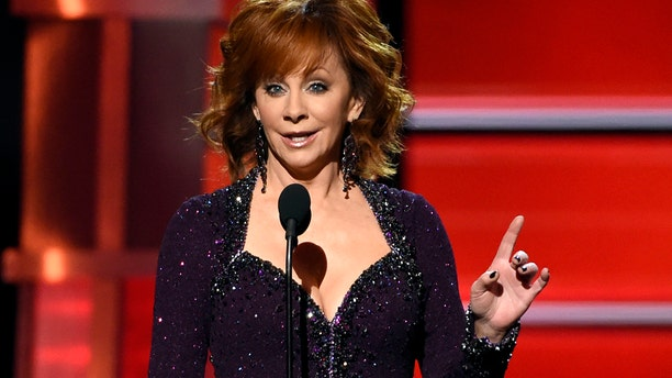 Reba hosted the 53rd annual Academy of Country Music Awards at the MGM Grand Garden Arena on Sunday, April 15, 2018, in Las Vegas.
