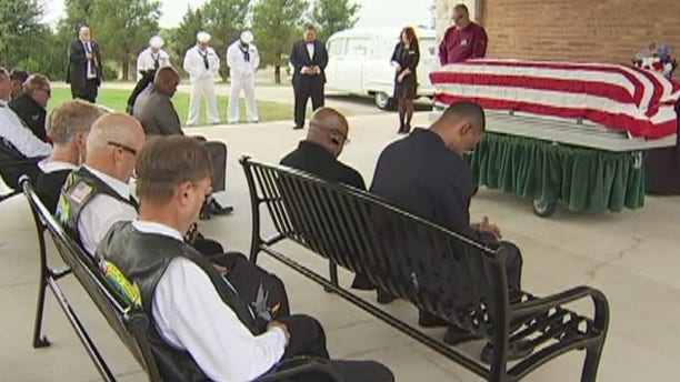 Navy veteran Richard Lee Anderson was given a funeral with honors after his family could not be found. (Fox 7 Austin)