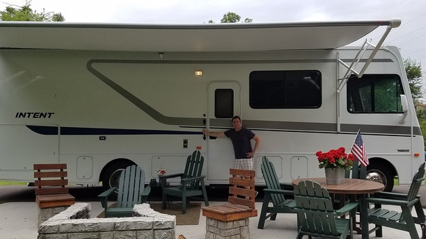 """Todd Piro, along with his trusty RV, is experiencing some of the country's best RV-friendly destinations on the """"Fox and Friends"""" All-American Road Trip."""