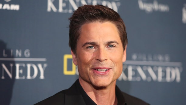 "November 4, 2013. Actor Rob Lowe, cast member of the National Geographic Channel drama program ""Killing Kennedy"";  who portrays John F. Kennedy,  attends the film's premiere in Los Angeles."
