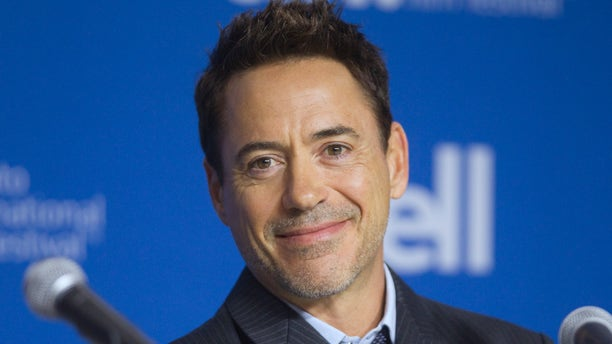 "September 5, 2014. Cast member Robert Downey Jr. attends a news conference promoting the film ""The Judge"" at the Toronto International Film Festival."