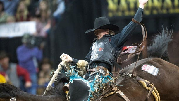 Ryder Wright, 19, walked away from the National Finals Rodeo in Las Vegas as a world champion.