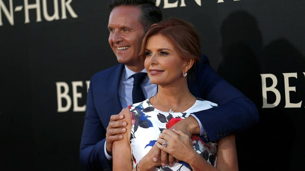 Roma Downey came up with the idea for Lightworkers.com when she was watching the news in bed with husband Mark Burnett.
