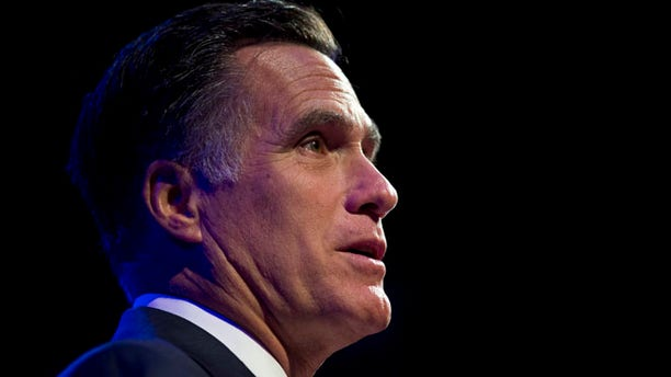 Aug. 29, 2012: Mitt Romney speaks in Indianapolis.