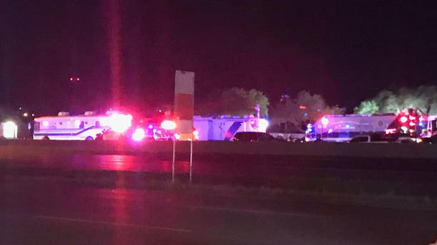 Law enforcement responds to where the Austin bombing suspect detonated two packages as police closed in.