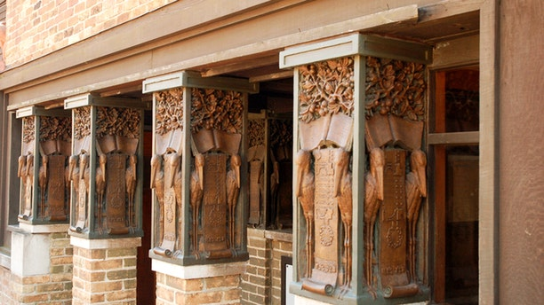 The Frank Lloyd Wright studio isn't for sale but you can own a home he designed in Chicago.