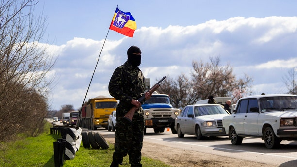 """All of Russia's neighbors remember those so-called """"green men,"""" the soldiers who entered Crimea in early 2014 to only be confirmed later as Russian soldiers."""