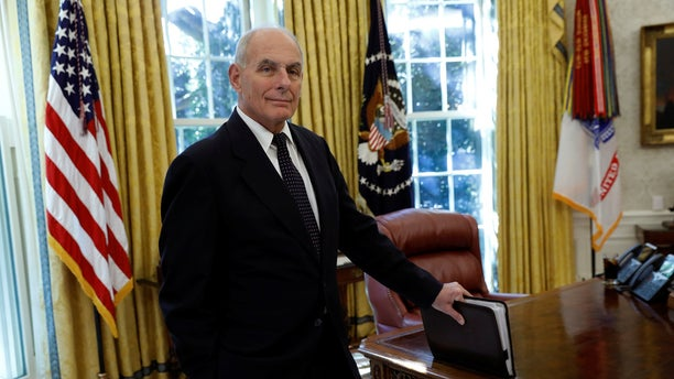 As White House chief of staff, John Kelly has sought to reform the security clearance process.